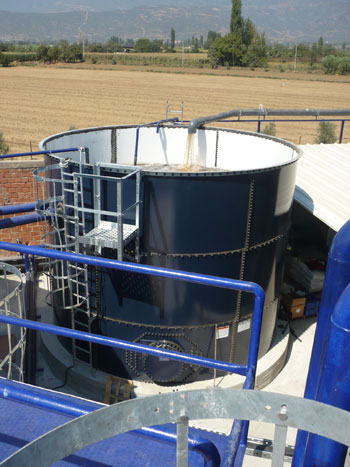 Euro Gıda Prefabrik Tankları Devreye Alındı